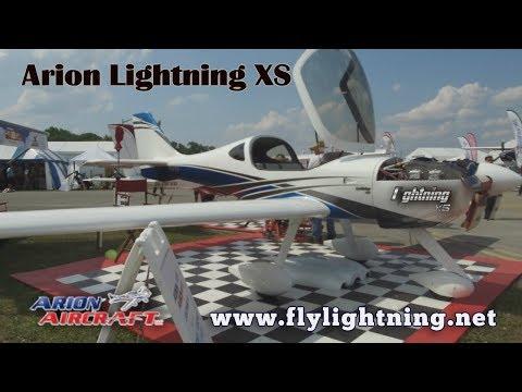 Arion Aircraft, Arion Lightning XS, Experimental Amateurbuilt Aircraft, www.lightning.net