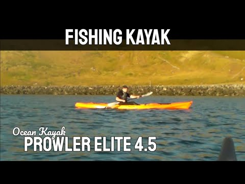 Fishing Kayak - Ocean Kayak Prowler Elite 4.5 Fishing Kayak