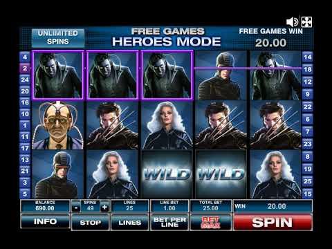 x-men описание игрового автомата