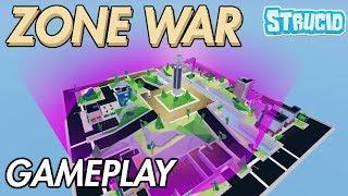 ZONE WARS GAMEPLAY IN STRUCID | Roblox