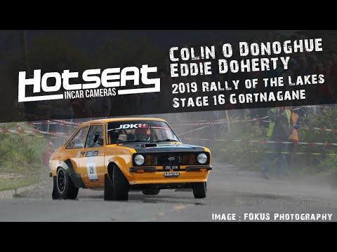 2019 Killarney Rally of the Lakes Colin O'Donoghue / Eddie Doherty - Stage 16 Gortnagane