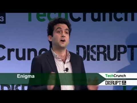 Enigma Presentation: Startup Battlefield | Disrupt NY 2013