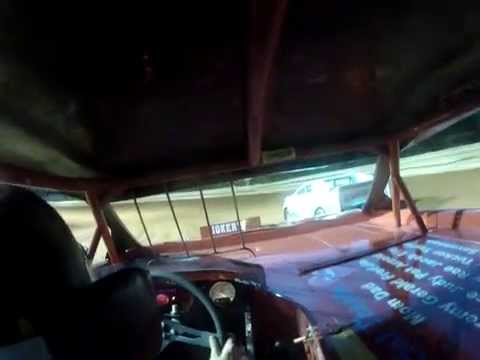 TR Speedway Stock 4 Heat  in car camera 5/1/15