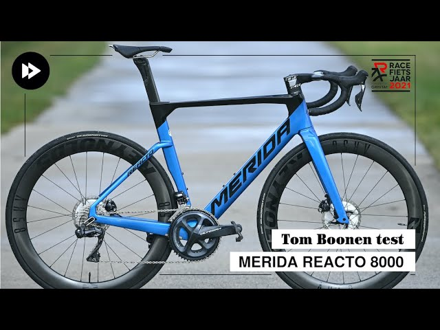 Tom Boonen test Merida Reacto 8000