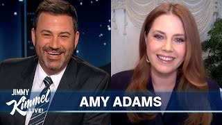 Amy Adams on Playing 'FaceTime Roulette,' New Robert De Niro Crush & Thanksgiving Plans