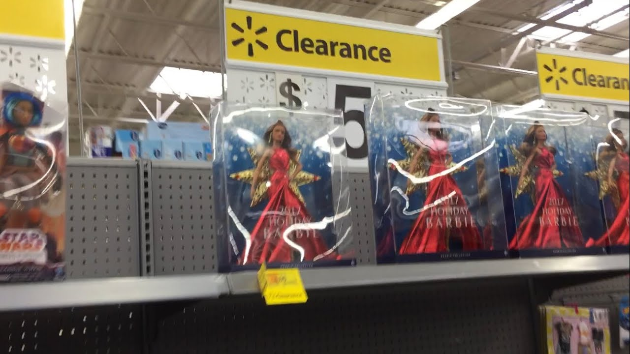 Walmart Clearance Aisle After Second Markdown