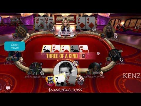 Part 1 75 Vs Qq And 94 Kenz Zynga Poker Youtube