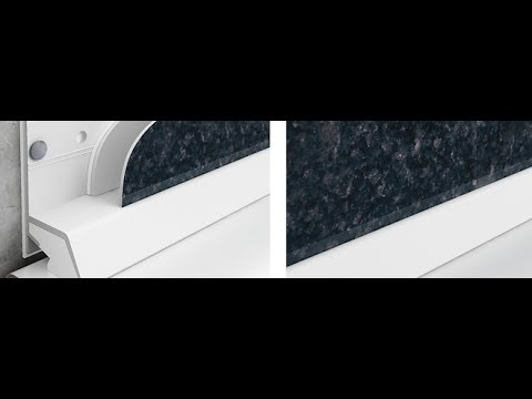 How to install Cladseal to create a waterproof bottom edge with Shower Wall  Panels