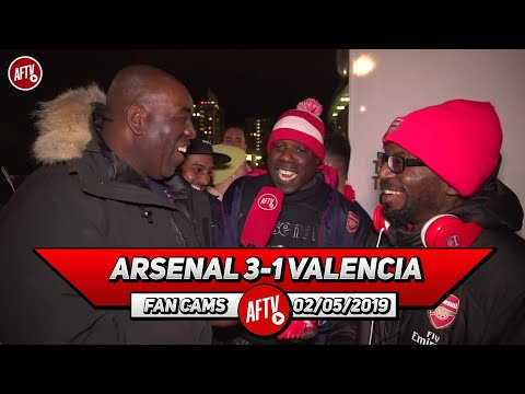 Arsenal 3-1 Valencia | I'm Confident We Will Make It To The Final! (Ty & Belgium)