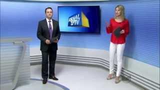 EPTV Varginha 1ed - Entrevista ao vivo sobre o busto de Stº Antônio