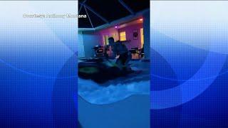 Tik Tok of North Port duo riding jet ski in swimming pool goes viral