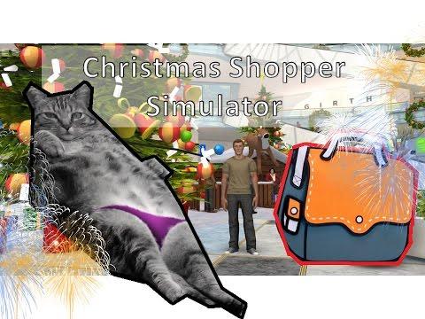 Игра симулятор новогоднего шопинга играть