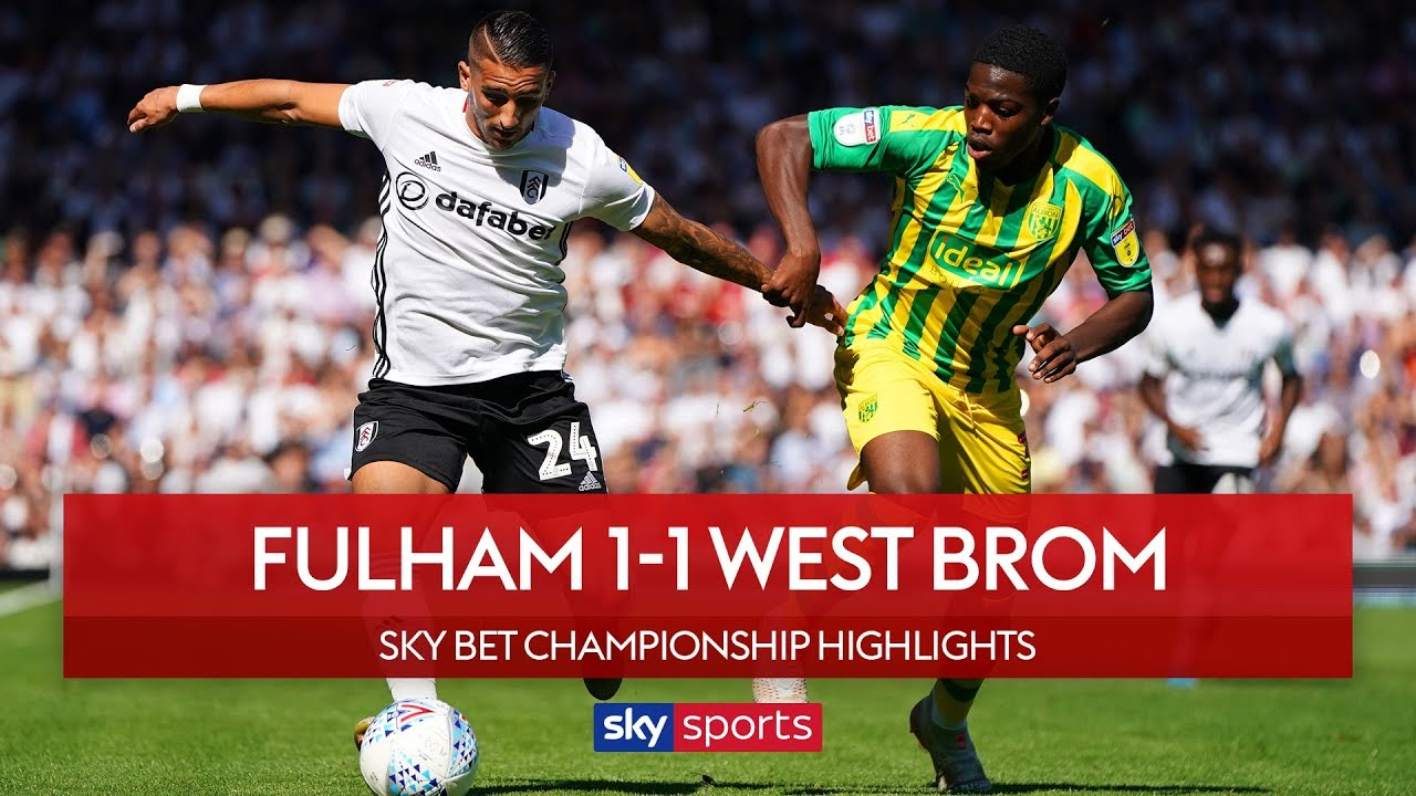 Knockaert scores stunner in Fulham draw |  Fulham 1-1 West Brom | EFL Championship | Highlights