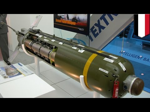 "CBU-105 Cluster Bomb (GPS-Guided ""Can of Whup-Ass"")"