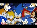 Saturday Morning Adventures in Sonic Mania: Credits (Sonic Cartoons + More X Sonic Mania  Mashup)