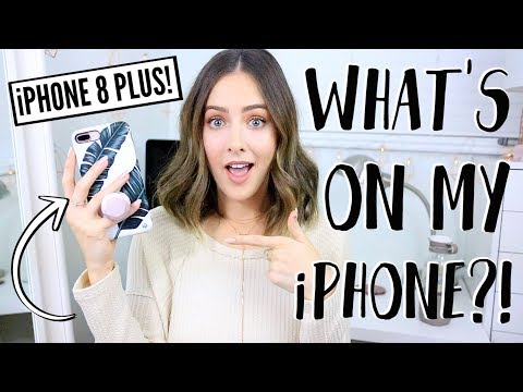 Download Youtube: What's On My iPhone 8 Plus?!
