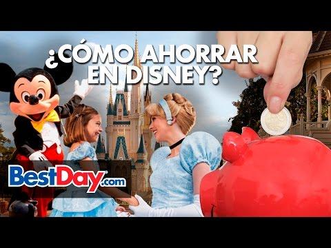Ahorra en tu viaje a Disney