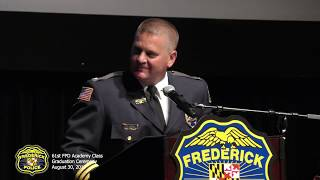61st Frederick Police Department Academy Class - Graduation Ceremony