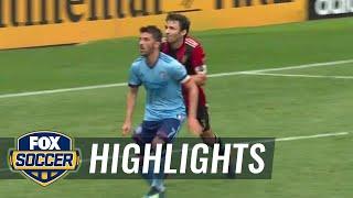 New York City FC vs. Atlanta United FC | MLS Highlights | FOX SOCCER