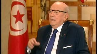 برنامج حديث الساعة في حوار مع رئيس الجمهورية السيد الباجي قايد السبسي