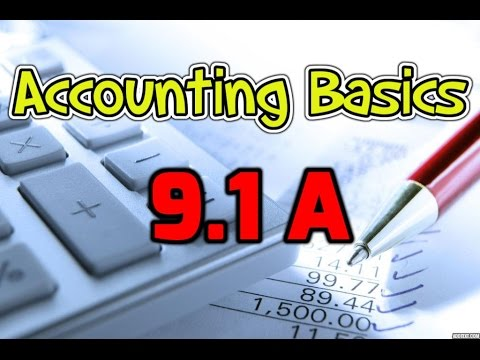 Accounting Basics 9.1a: Cash Flow Statement - Direct Method Example