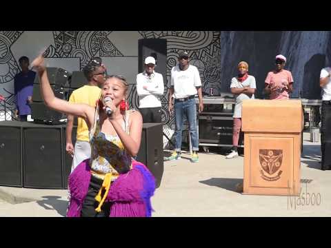 VUT celebrates Sunflower Day ft Sho Madjozi