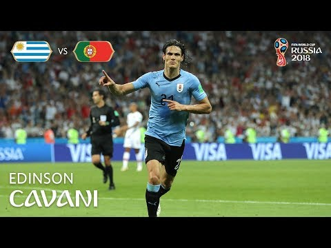 Edinson CAVANI Goal 2  - Uruguay v Portugal - MATCH 49
