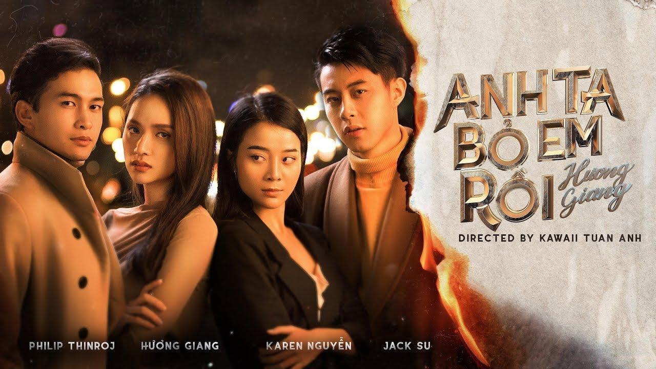 Anh Ta Bỏ Em Rồi - Hương Giang | Lyrics + audio Video HD #ADODA3