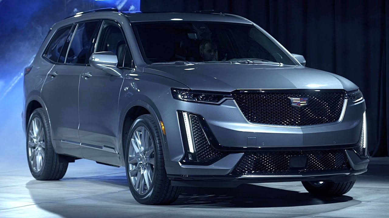 2020 cadillac xt6 unveiled in detroit - youtube