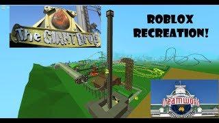 The Giant Drop recreation - Dreamworld Australia in roblox
