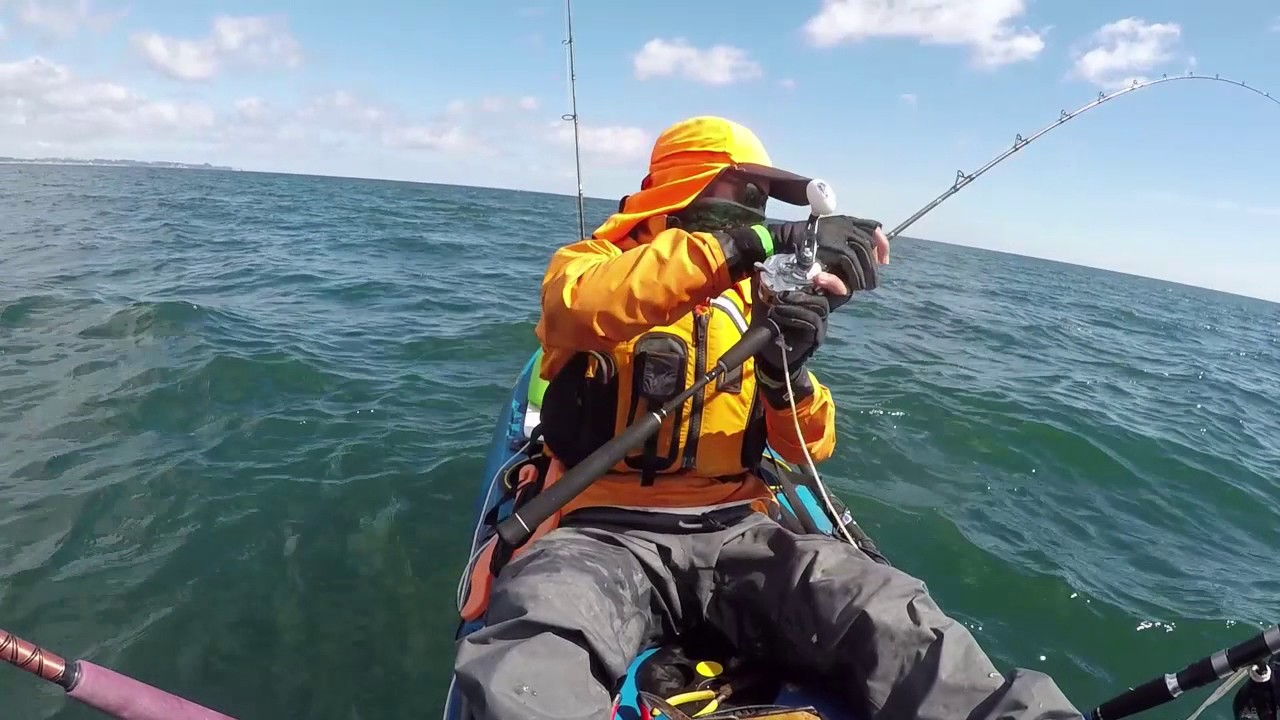 Kayak Fishing NZ January 2017 - YouTube