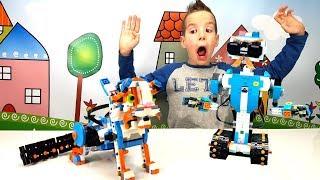 Распаковка LEGO Boost Роботы (17101) - очень крутой набор | Ник Турбо / Lego Toys Review