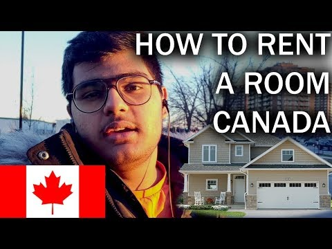 HOW To FIND A ROOM For RENT In CANADA | LUVRAJ TYAGI |