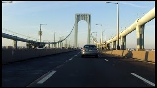 Bronx Whitestone Bridge northbound