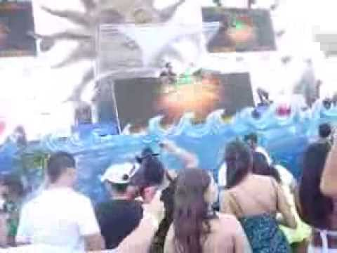 Cedric Gervais (live) Pool party Cali - Colombia part -1