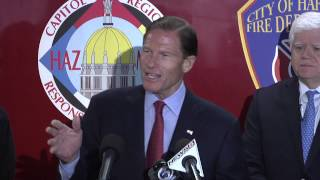 Announcement of FEMA Grant for Hartford Fire Department 2014 Thumbnail