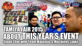 DAY 3 - Small Chat with Team Malaysia and Car Line Ups (Tamiya Fair 2015)