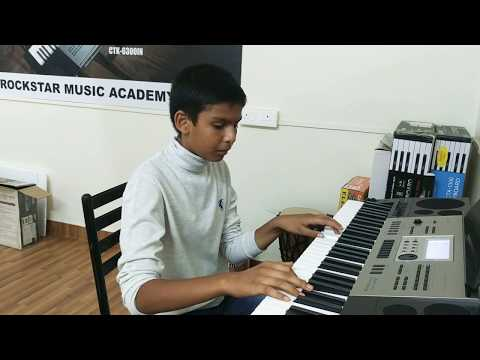 Despacito perform by Nived at Rockstar Music Academy pune