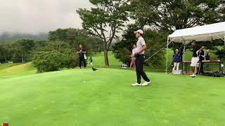 APGC Junior Championship Mitsubishi Corporation Cup 2019 Denwit Boriboonsub's golf swing
