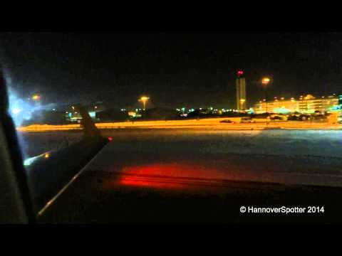 Air Canada Jazz CRJ-200 Onboard Night Landing In Milwaukee