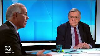Shields and Brooks on Trump's role in the economy, Michael Cohen and the Russia probe