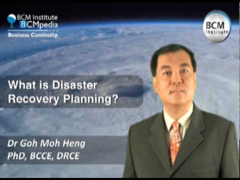 BCM Institute, BCMpedia  - What is IT Disaster Recovery Planning?