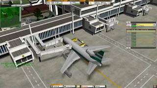 我是航空管制官3 啟德機場 ATC3 Hong Kong Kai Tak Airport Stage 1 Gameplay
