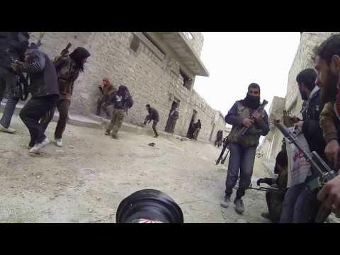 シリア 前線の反政府軍兵士達