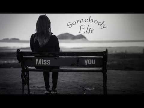Somebody Else - The 1975 - Ebony Day Cover - Lyric