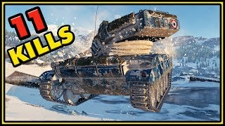 AMX 13 105 - 11 Kills - World of Tanks Gameplay