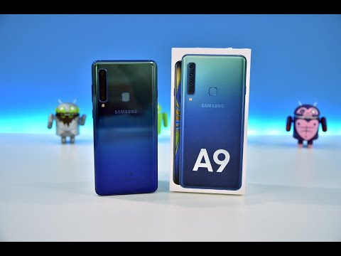 Samsung Galaxy A9 2018 4-КАМЕРЫ, А ТОЛКУ МАЛО!