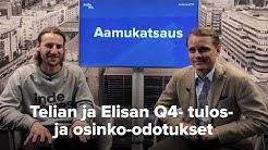 Telian ja Elisan Q4- tulos- ja osinko-odotukset