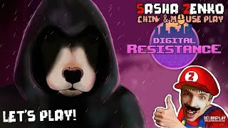 Digital Resistance Gameplay (Chin & Mouse Only)