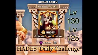 Gods of Olympus / HADES Daily Challenge -  Lv125 - 130 Video
